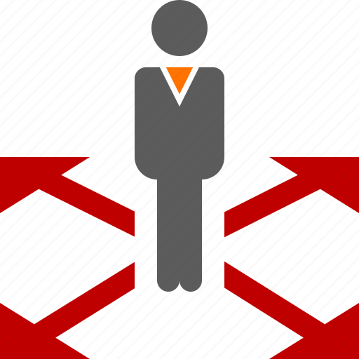 business, positioning, strategy icon