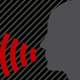 communication, pr, public, relations, speach icon
