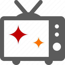 broadcast, television, tv icon