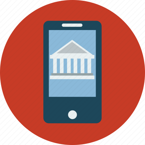 banking, mobile, mobile money transfer, smartphone, wire transfer icon