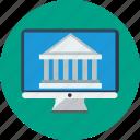 banking, desktop, money trasnfer, online, online banking