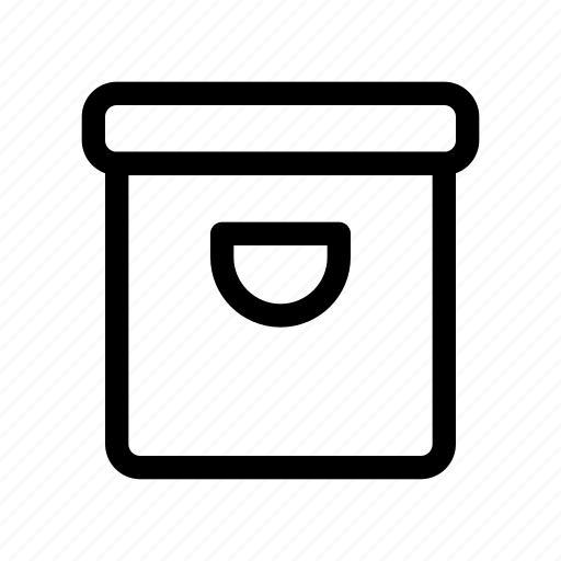 archive, business, interface, user, work icon