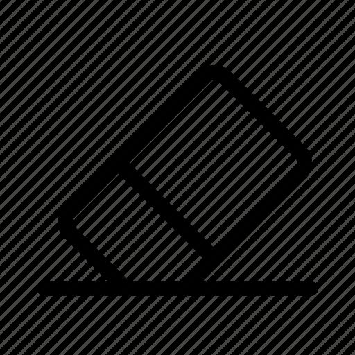 business, eraser, interface, user, work icon