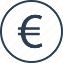 currency, euro, finance, money, sign, wealth icon