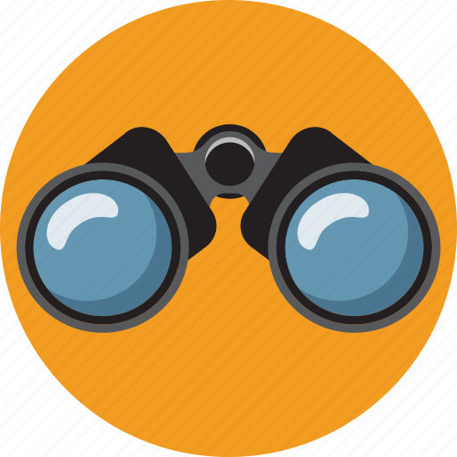 binocular, business, find, marketing, search, view, zoom icon