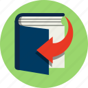 book, download, ebook, education, online, read, shop icon