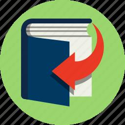 book, download, ebook, education, online, read, shop icon