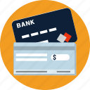 card, check, credit, debit, money, payments, shopping