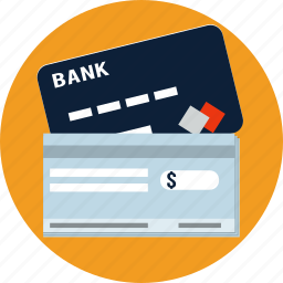 card, check, credit, debit, money, payments, shopping icon