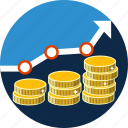 business, chart, finance, graph, growth, increase, money