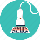 barcode, logistics, price, reader, scaner, shopping, tool icon