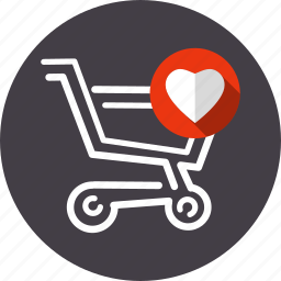 cart, favorite, like, promotion, service, shopping, store icon