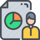 analytics, business, chart, marketing, report, statistics icon