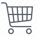 buy, cart, commerce, e, retail, shopping, supermarket icon