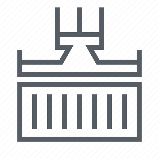 cargo, container, export, freight, logistics, shipping icon