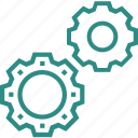 cog, customize, gear, gear wheel, repairing, settings icon