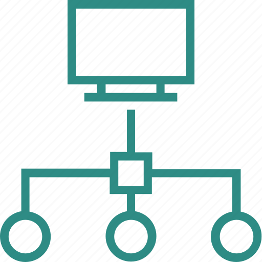 hierarchical network, hierarchy, network, network model, server hierarchy, sharing network, sitemap icon