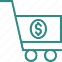 add to cart, ecommerce, money trolley, online shopping, shopping, shopping cart, shopping trolley icon