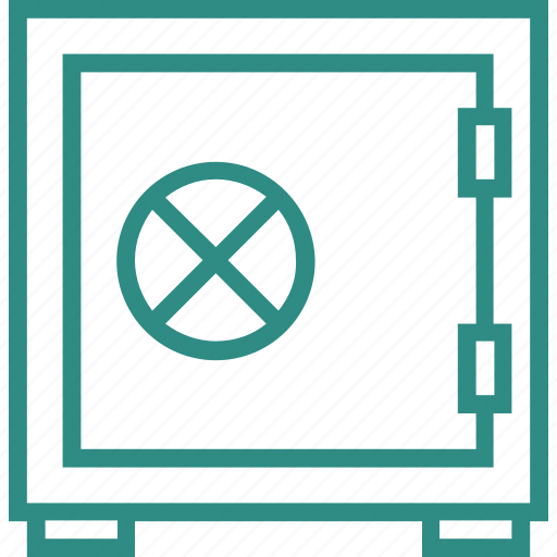 bank locker, bank safe, locker, money box, money security, safe box, safe locker icon