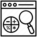 content management, digital content, digital data, related content, table of contents icon