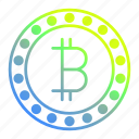 bitcoin, blockchain, crypto, cryptocurrency, currency, digital currency icon
