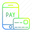 business and finance, cardsmart, payment, phone icon