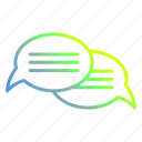 bubble, chat, communication, conversation icon