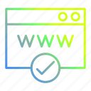 page, seo, web, website icon