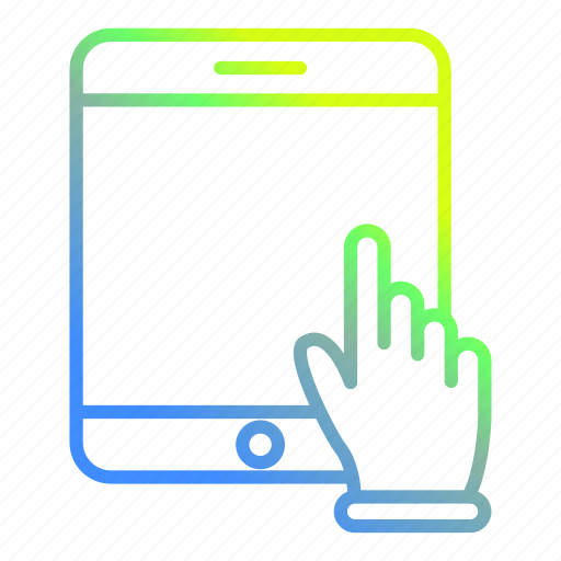 device, smartphone, tablet, technology icon