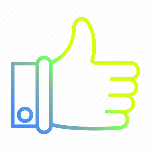 Hand, like, thumbs, up, vote icon - Download on Iconfinder