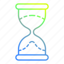 glass, hour, hourglass, time, timer icon