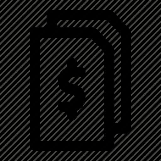 business, data, finance, market, money icon