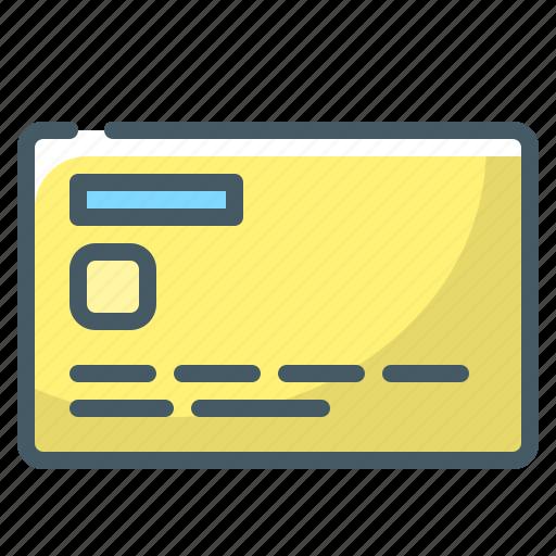 card, credit, credit card, money, non-cash icon
