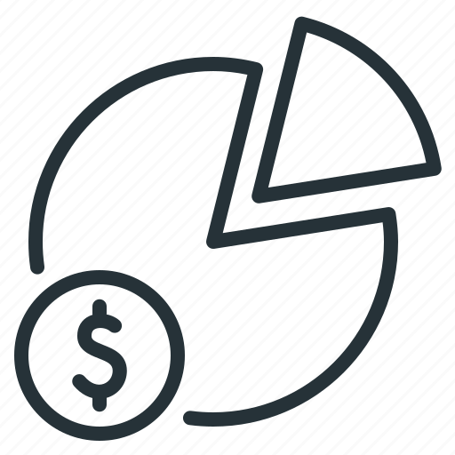 chart, dynamics, money, statistics icon