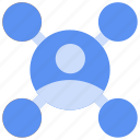 affiliate, business, network, people, relationship, relationships icon