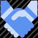 agreement, bukeicon, business, deal, finance, handheld, handshake