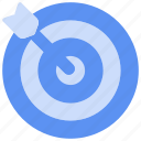 arrows, bukeicon, business, finance, goals, targets, vision icon