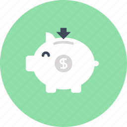 bank, budget, finance, investment, money, piggy, savings icon