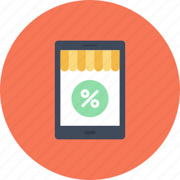 commerce, ecommerce, market, shop, shopping, store, tablet icon