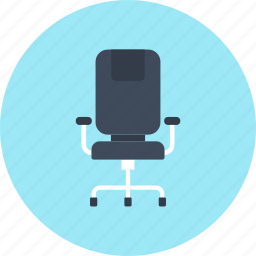 armchair, chair, furniture, manager, office, seat, work icon