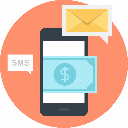 banking, email, message, mobile, money, payment, transaction icon