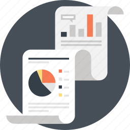 analytics, chart, document, file, graph, report, statistics icon