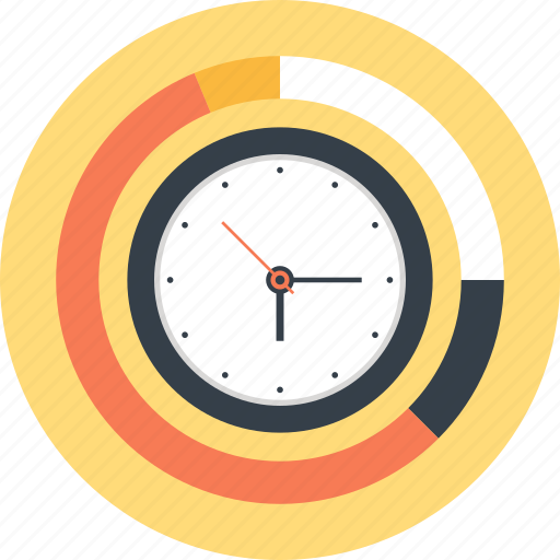 Business, chart, clock, graph, management, schedule, time icon - Download on Iconfinder