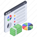 analytics, business analytics, data chart, finance chart, financial data, statistics icon