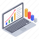 analytics, business chart, business growth chart, data analytics, data chart, statistics icon