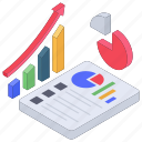 analytics, business chart, data chart, finance chart, financial growth, statistics icon