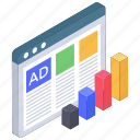 ads, digital ad, digital advertisement, internet ad, online ad, web advertisement icon