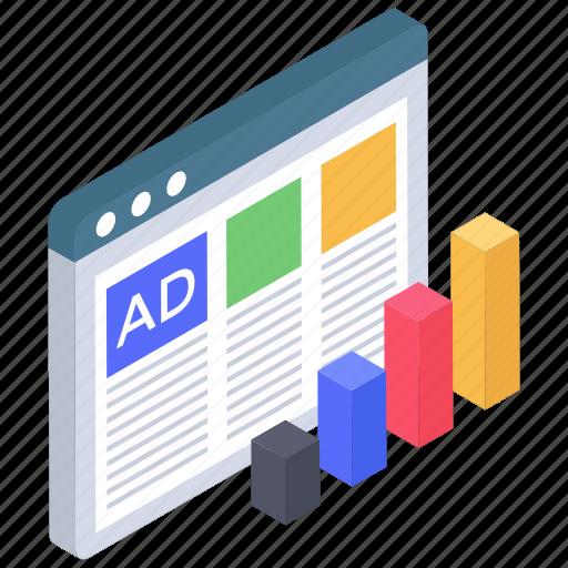 Ads, digital ad, digital advertisement, internet ad, online ad, web advertisement icon - Download on Iconfinder