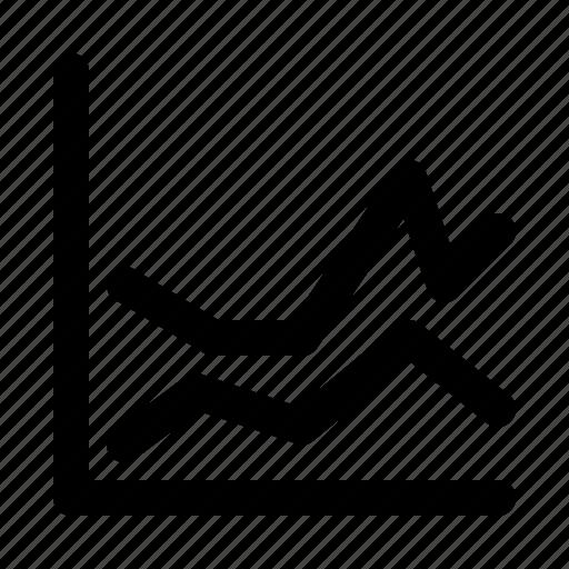 chart, finance, graph, growth, line, progress, report icon
