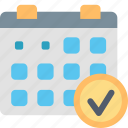appointment, calendar, date, event, month, plan, schedule icon